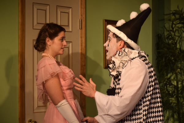 Katie Kirtland (Maggie) and David Macharelli (Max)
