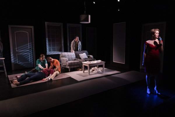 Photo Flash: Week 5 Of The Actors Studio Drama School Repertory Season Opens With Rebeck's OUR HOUSE