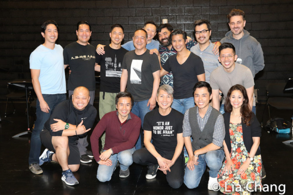 GOLD MOUNTAIN Company  1st Row: Viet Vo, Steven Eng, Jason Ma, Jonny Lee, Jr. , Ali Ewoldt. 2nd Row: Eric Elizaga, Darren Lee, Daniel May, Alan Muraoka, Joseph Steven Yang, Lawrence-Michael Arias, Eri