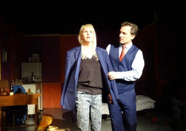Meg Wallace (Catherine) and Brian Kavanaugh (Robert)
