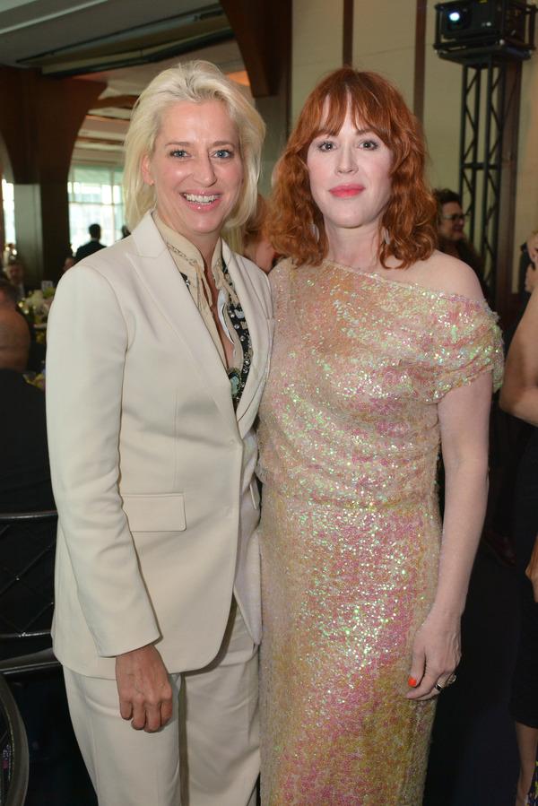 Dorinda Medley and Molly Ringwald