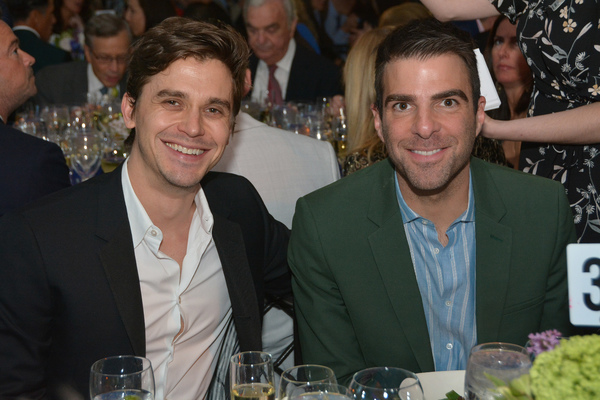 Antoni Porowski and Zachary Quinto Photo