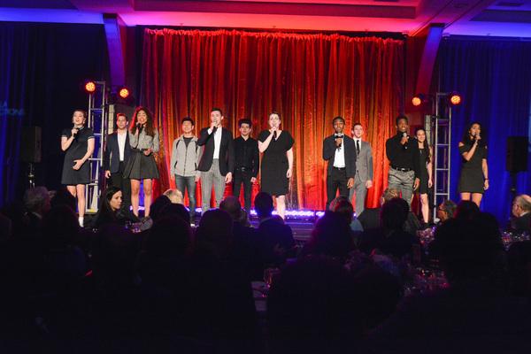 Photo Flash: Broadway Stars Shine at NIGHT AT THE PIER Gala