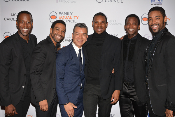 Saint Aubyn, Shawn Bowers, E. Clayton Cornelious, Marcus Paul James and Jelani Remy w Photo