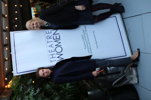 LPTW Oral History Associate Producer Sophia Romma and LPTW Oral History Producer Ludo Photo