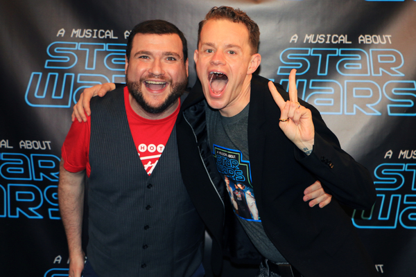 Photo Flash: A MUSICAL ABOUT  STAR  WARS Celebrates Opening Night