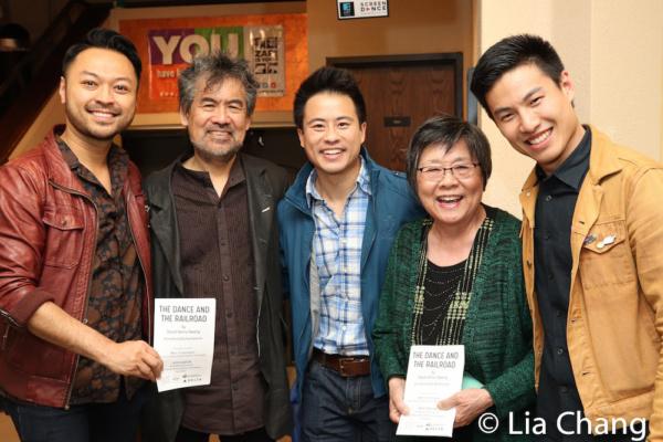 Billy Bustamante, David Henry Hwang, Whit K. Lee, Margaret Yee, Tobias C. Wong Photo