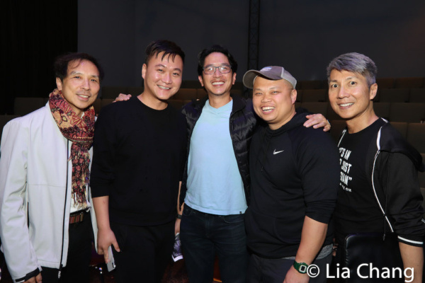Richard Chang, Chongren Fan, Eric Elizaga, Viet Vo and Jason Ma