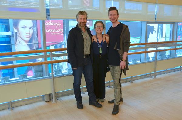 Scott Schwartz, Tovah Feldshuh and Wade Dooley Photo