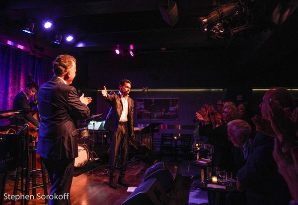 Photo Coverage: Clint Holmes & Billy Stritch: A Special Engagement at the Birdland Theater