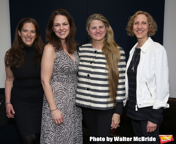 Kara Unterberg (The NY SongSpace), Georgia Stitt (MAESTRA Founder), Bonnie Comley (BroadwayHD) and Kathy Sommer (Songwriter/Composer)