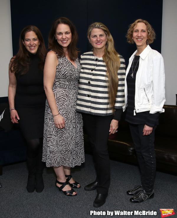 Kara Unterberg (The NY SongSpace), Georgia Stitt (MAESTRA Founder), Bonnie Comley (Br Photo