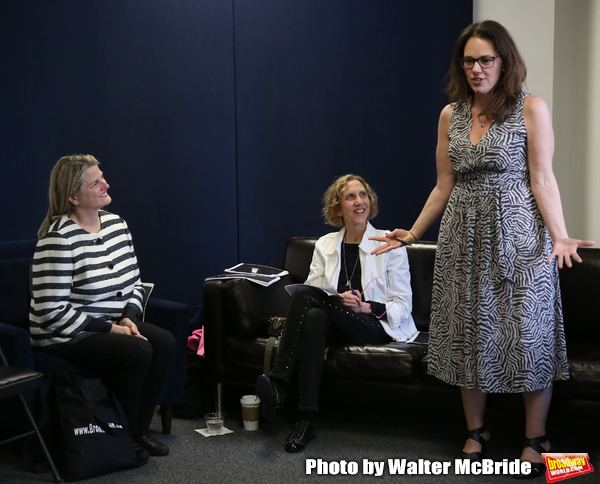 BroadwayHD's Bonnie Comley, Songwriter/composer Kathy Sommer and MAESTRA founder Georgia Stitt