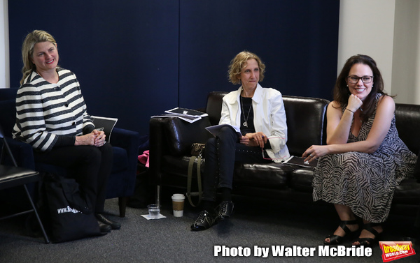 BroadwayHD's Bonnie Comley, Songwriter/composer Kathy Sommer and MAESTRA found Photo