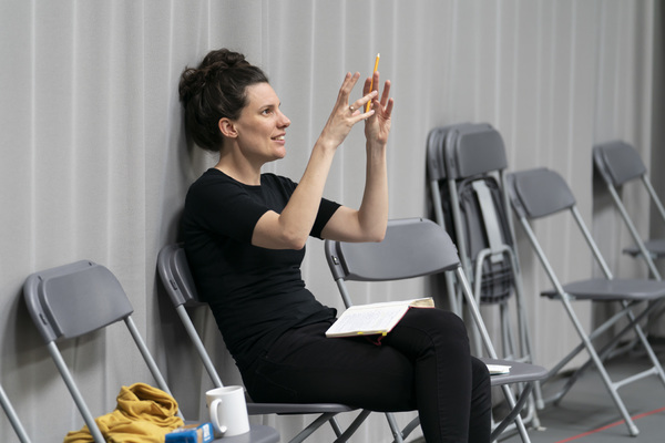 Photo Flash: Inside Rehearsal For OUR TOWN at Regent's Park Open Air Theatre