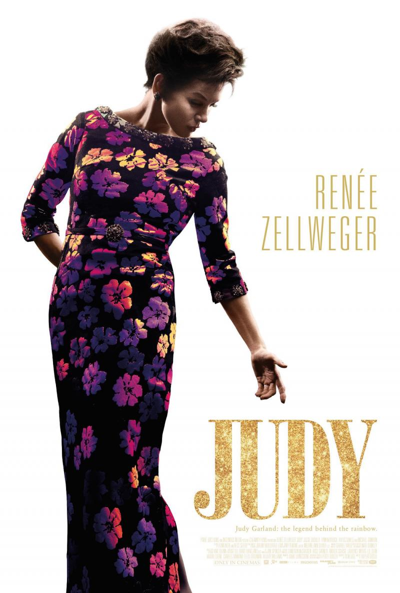 Photo Flash: First Poster of Renee Zellweger as Judy Garland in JUDY is Released