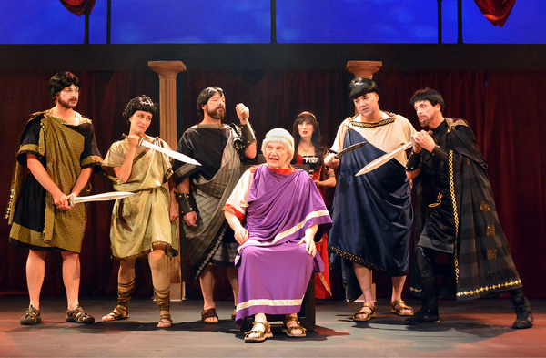 Photo Flash: First Look at Troubadour Theater Co's JULIUS WEEZER