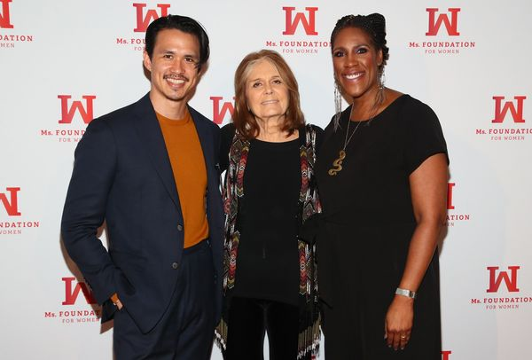 Alexander Hodge, Founding Mother, Ms. Foundation Gloria Steinem and President & CEO o Photo