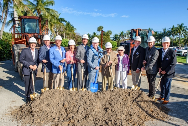 Photo Flash: Maltz Jupiter Theatre Breaks Ground On Expansion Project