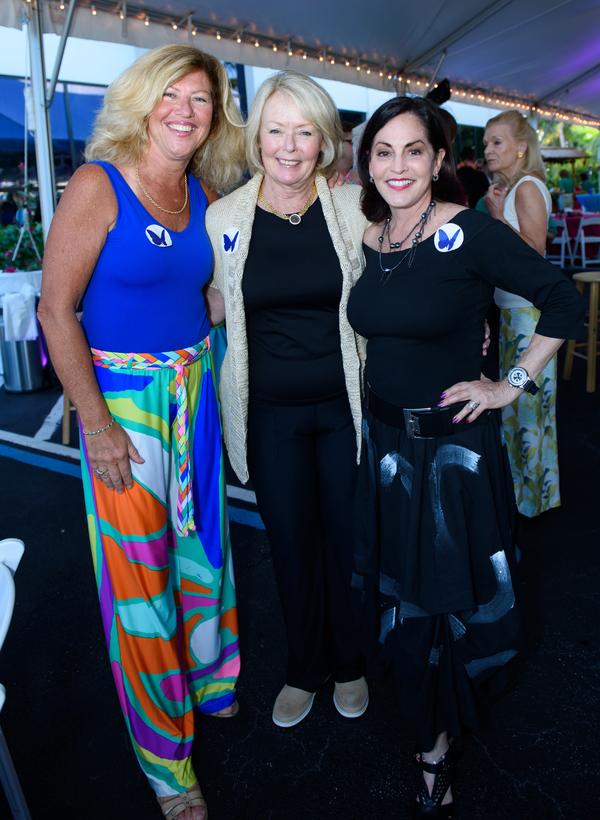 Evelyn Higgins, Cathy Merson, Roberta Golub Photo