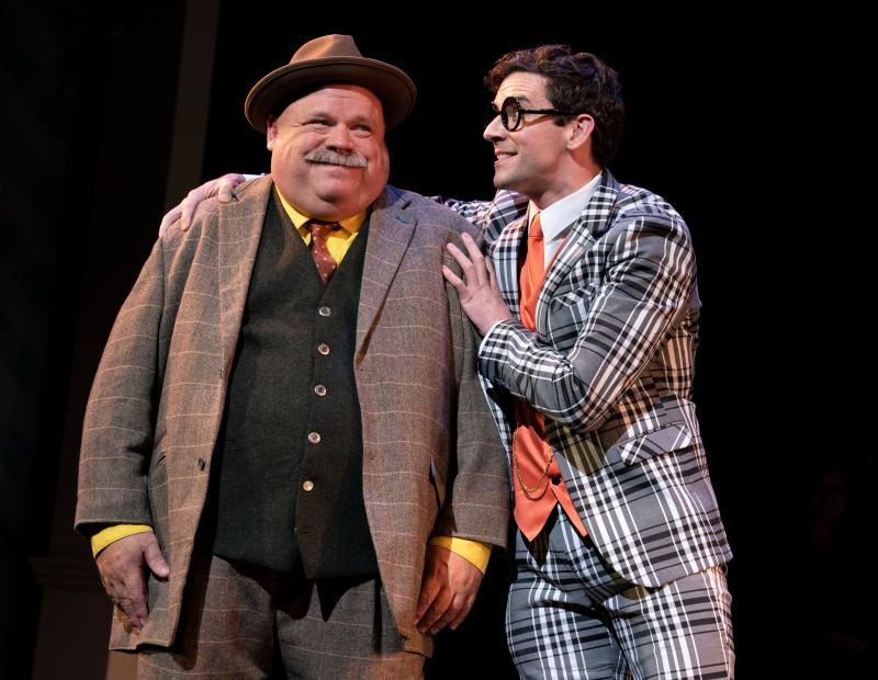 BWW Review: Encores! Has Michael Urie and Kevin Chamberlin As A Pair of Clowning Con Men in HIGH BUTTON SHOES