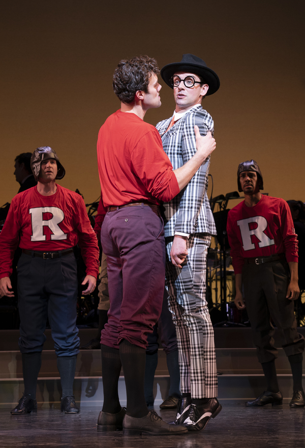 Photo Flash: First Look at Michael Urie & More in Encores! HIGH BUTTON SHOES