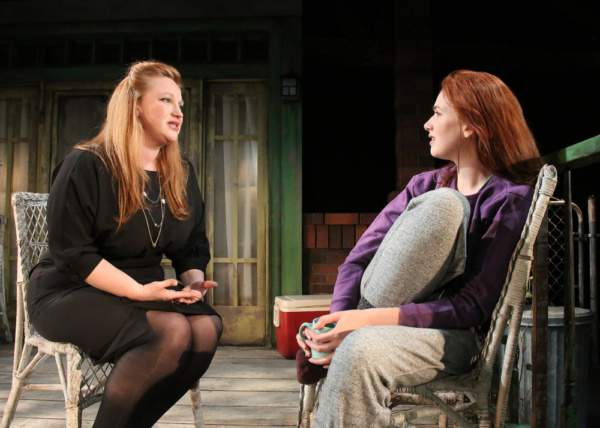 Holly Erin McCarthy and Monica Giordano in Cape Rep Theatre''s ''Proof'' Photo