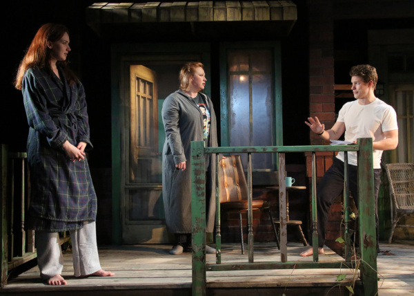 Monica Giordano, Holly Erin McCarthy and We Williams in Cape Rep Theatre''s ''Proof'' Photo