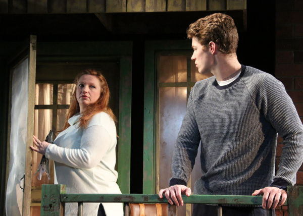 Holly Erin McCarthy and Wes Williams  in Cape Rep Theatre''s ''Proof'' Photo