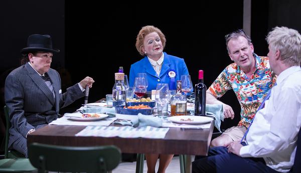 Arabella Weir (Winston Churchill) Steve Nallon(Margaret Thatcher) Tim Wallers (Tony Blair)