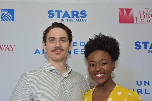 Zach Hess and Aisha Jackson