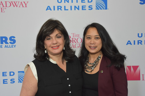 Charlotte St. Martin and Anne del Castillo