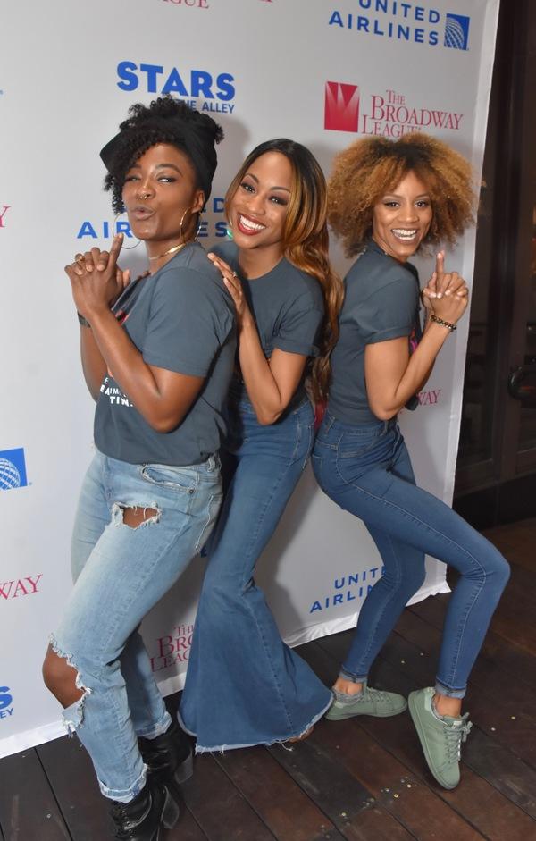 Taylor Symone Jackson, Nascia Thomas and Candice Marie Woods