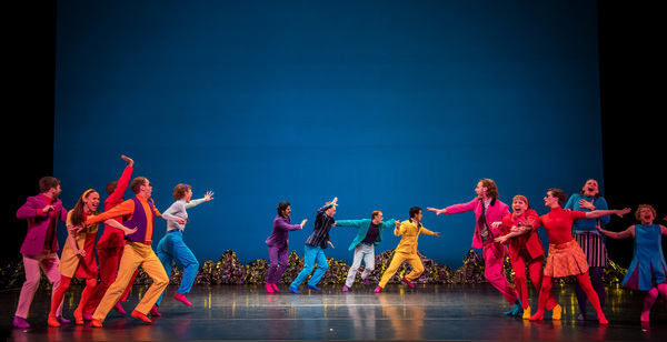 "The Mark Morris Dance Group performs ""Pepperland"" at BAM Opera House on May 8, 2019.  Photo"