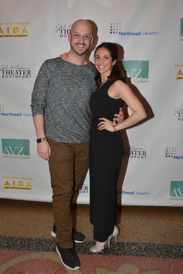 Zach Blane  and Karma Jenkins