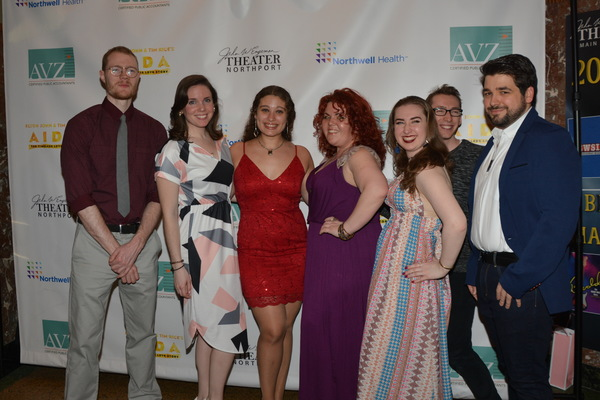 Ethan Carleton, Jennifer Walsh, Leila Scandar (Production Stage Manager), Laura McGauley, Michelle Michaels, Guest and Jake Goldsztejn