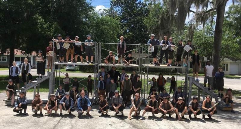 BWW Previews: NEWSIES SHOWCASE YOUTH NEWSPAPER STRIKE IN 1899 at Arts In Motion Community Youth Theatre