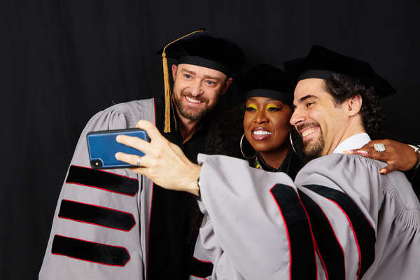 Photo Flash: Alex Lacamoire Honored at Berklee College of Music Commencement