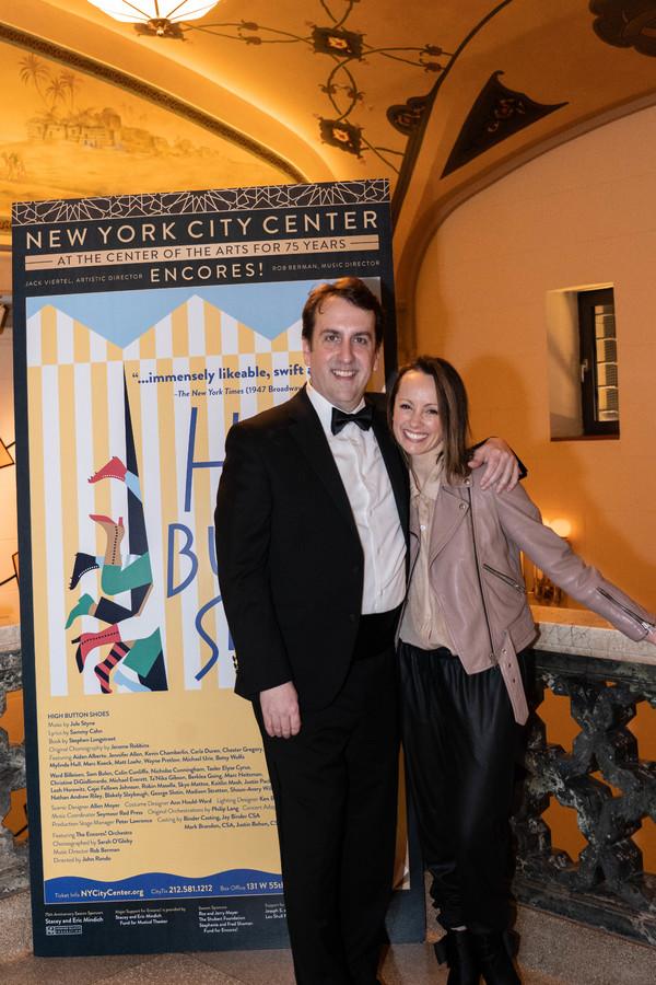 Music Director Rob Berman and Choreographer Sarah O'Gleby