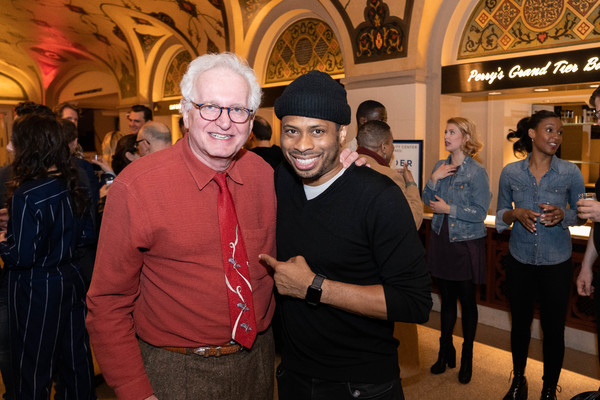 Encores! Artistic Director Jack Viertel and Chester Gregory Photo