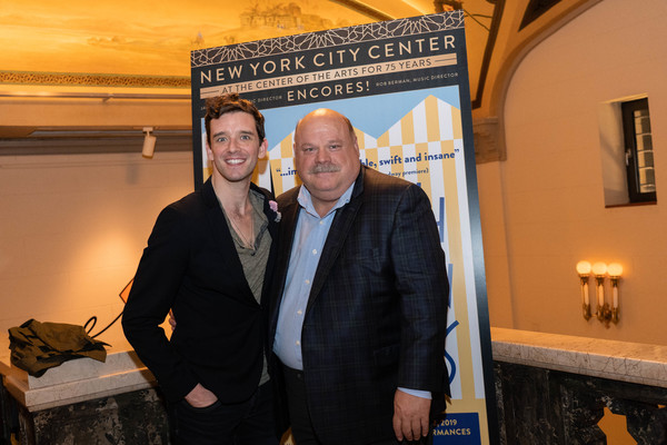 Michael Urie and Kevin Chamberlin