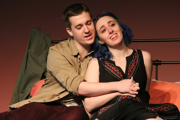 Danny (Bret Fox) and Lizzie (Rachel Schulte) dream of a future family