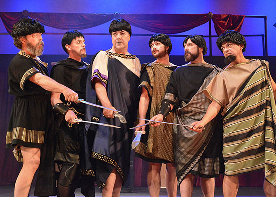 BWW Review: A Shakespeare Classic Gets the Rocker Treatment in Troubadour Theater Company's JULIUS WEEZER