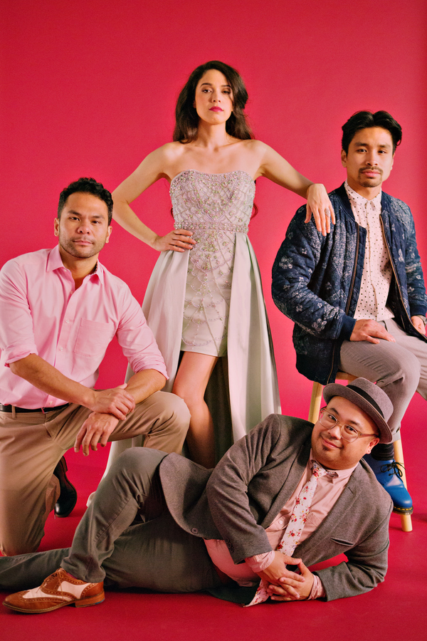 Photo Flash: Casts of FROZEN, ALADDIN & THE LION KING Unite to Celebrate Asian American & Pacific Islander Heritage Month