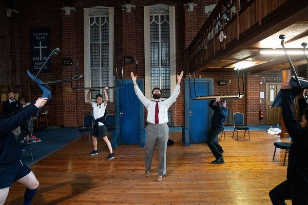 Photo Flash: In Rehearsal with EDUCATION, EDUCATION, EDUCATION