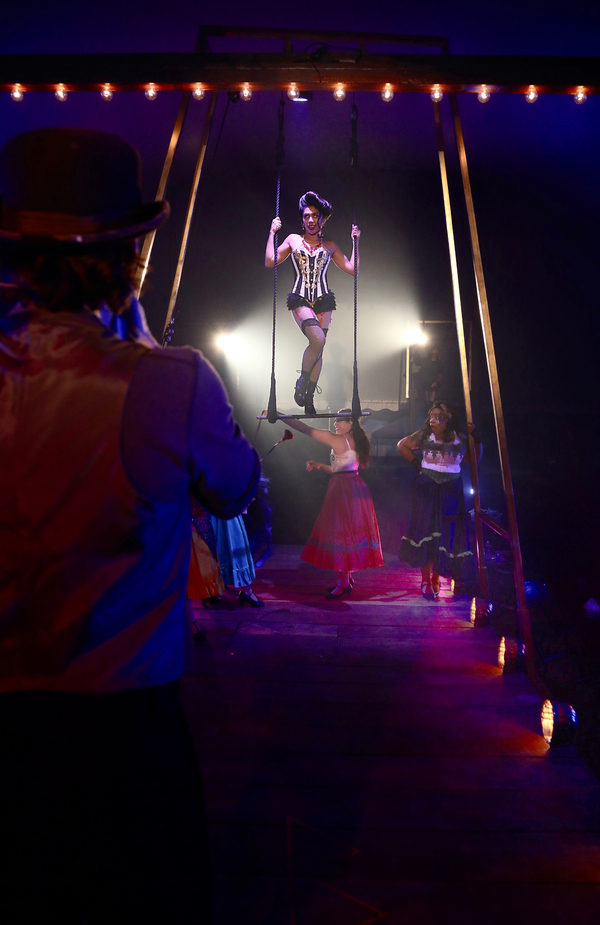 Niki Badua and the Cast of Ragtime