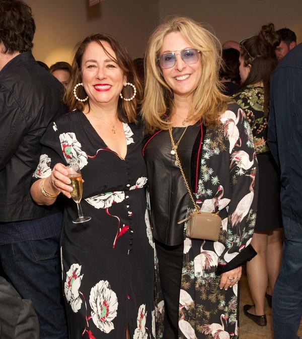 Arabella Weir & Tracey-Ann Oberman