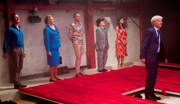 Photo Flash: THE LAST TEMPTATION OF BORIS JOHNSON Celebrates Opening Night