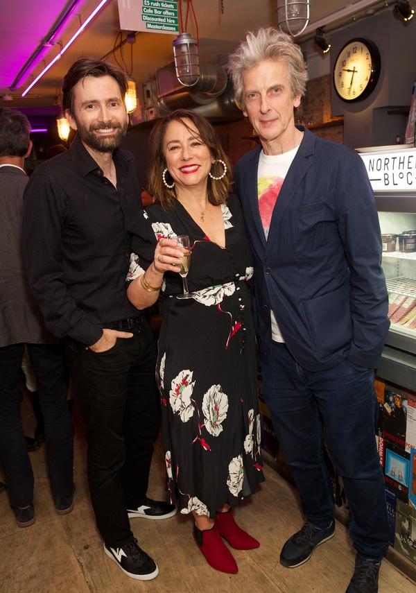 David Tennant, Arabella Weir & Peter Capadi Photo