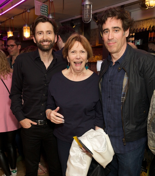 David Tennant, Joan Bakewell & Stephen Mangan Photo